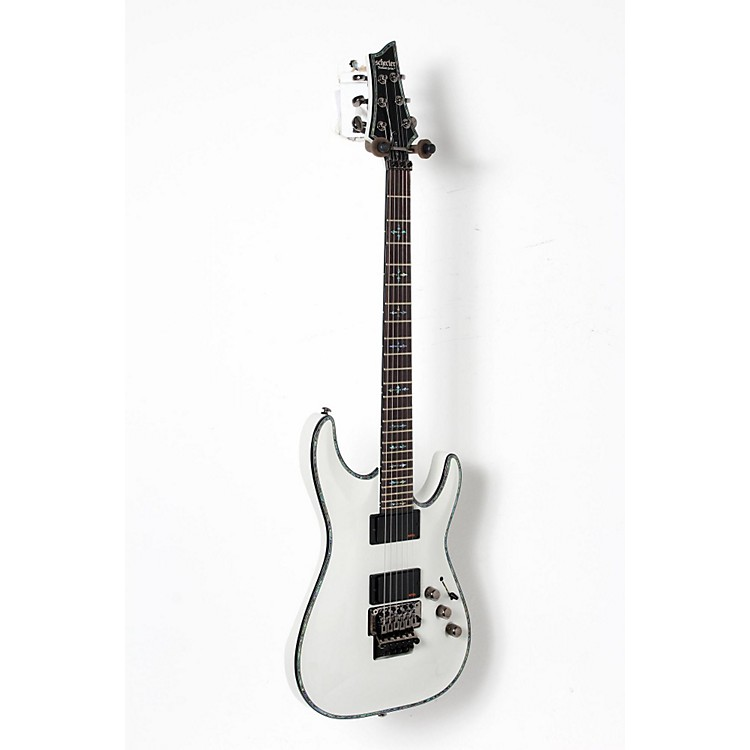 Schecter Guitar Research Hellraiser C-1 FR Electric Guitar White 888365910932