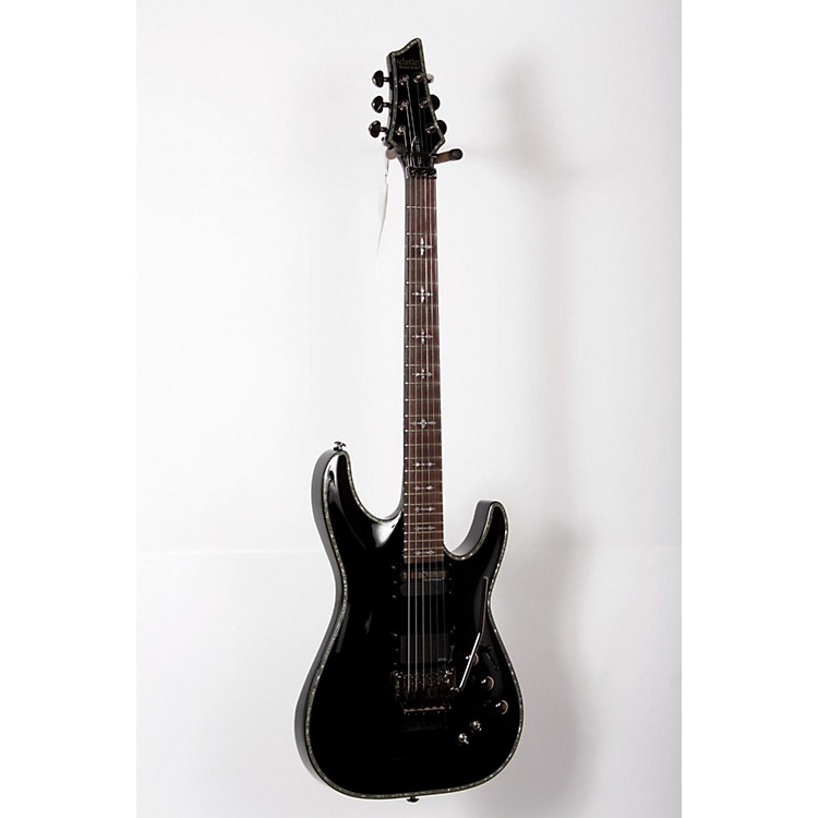 Schecter Guitar ResearchHellraiser C-1 with Floyd Rose Sustainiac Electric GuitarBlack888365800615