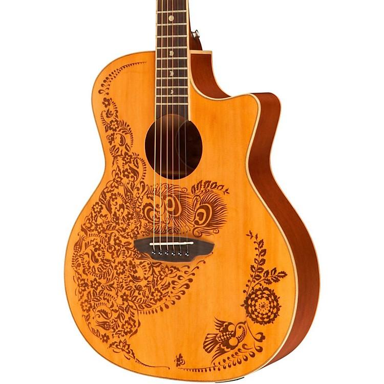 Luna GuitarsHenna Oasis Cedar Series II Acoustic-Electric Guitar