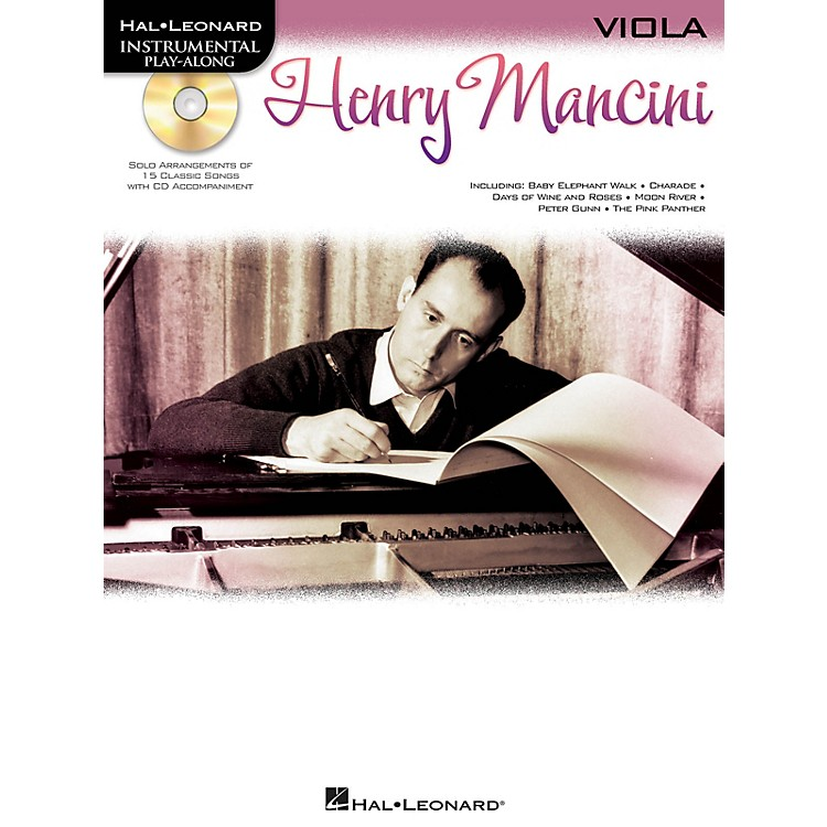 Hal Leonard Henry Mancini (Instrumental Play-Along for Viola) Instrumental Play-Along Series Softcover with CD
