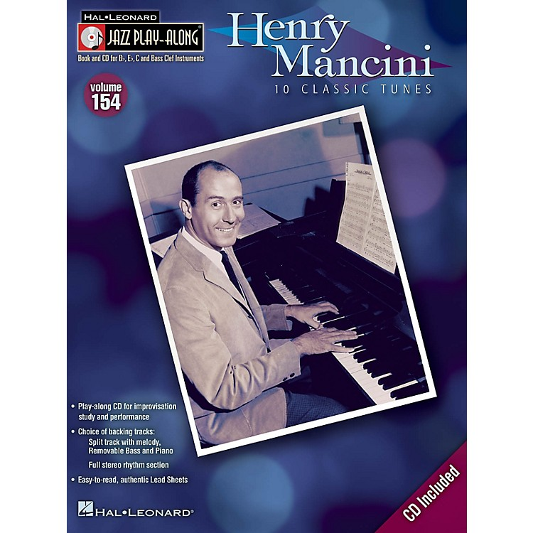 Hal LeonardHenry Mancini (Jazz Play-Along Volume 154) Jazz Play Along Series Softcover with CD