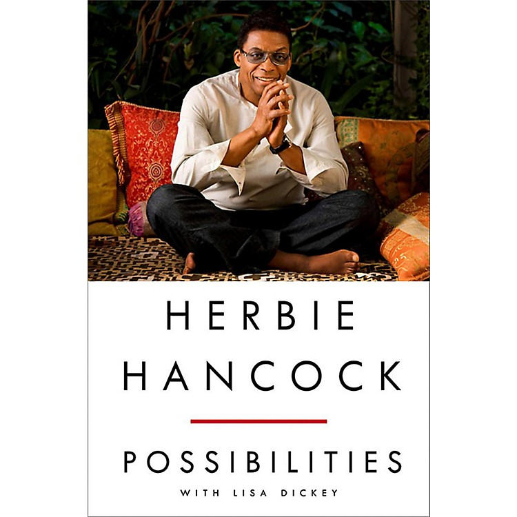 Penguin Books Herbie Hancock: Possibilities Hardcover Book