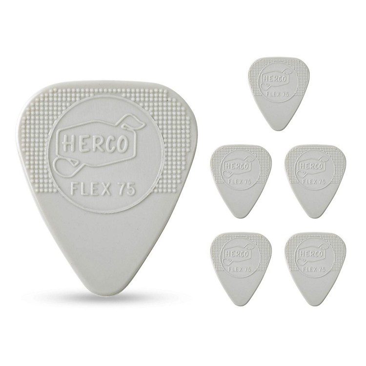 Dunlop Herco Holy Grail Guitar Picks .75 mm 6 Pack