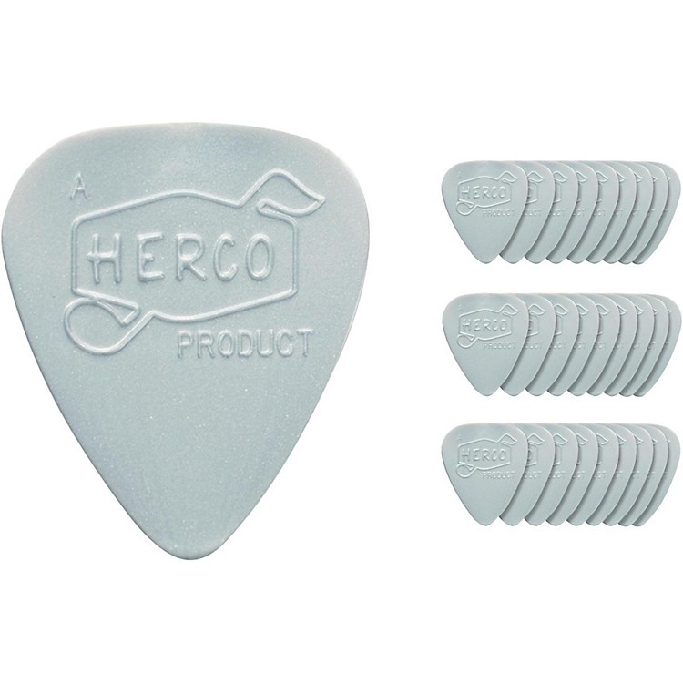 Dunlop Herco Vintage 66' Heavy Picks Silver (36-Pack)