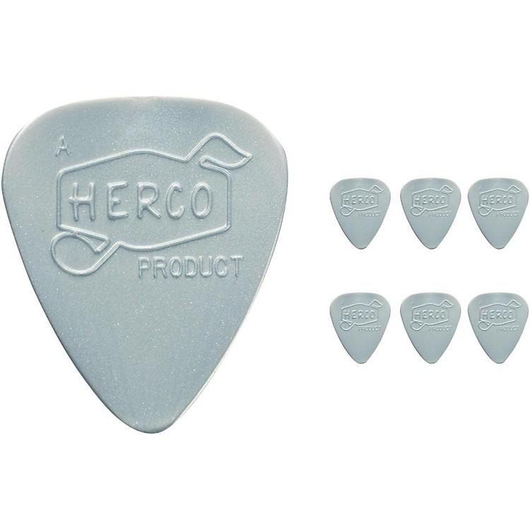 DunlopHerco Vintage 66' Heavy Picks Silver (6-Pack)