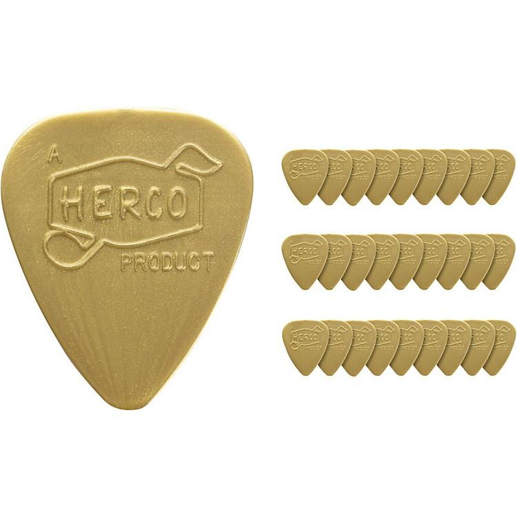 DunlopHerco Vintage 66' Light Picks Gold (36-Pack)