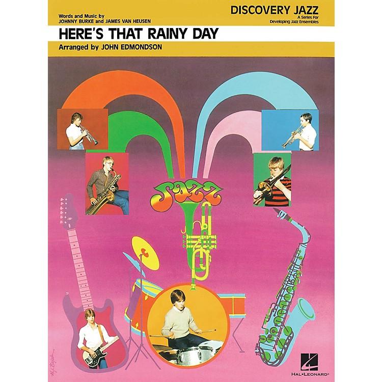Hal LeonardHere's That Rainy Day Jazz Band Level 1-2 Arranged by John Edmondson