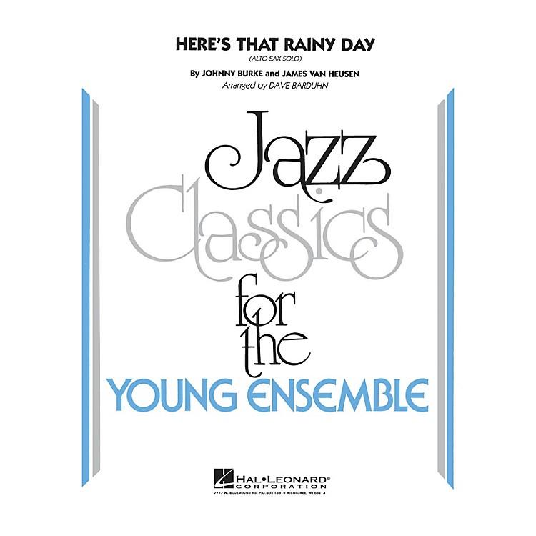 Hal LeonardHere's That Rainy Day Jazz Band Level 3 Arranged by Dave Barduhn