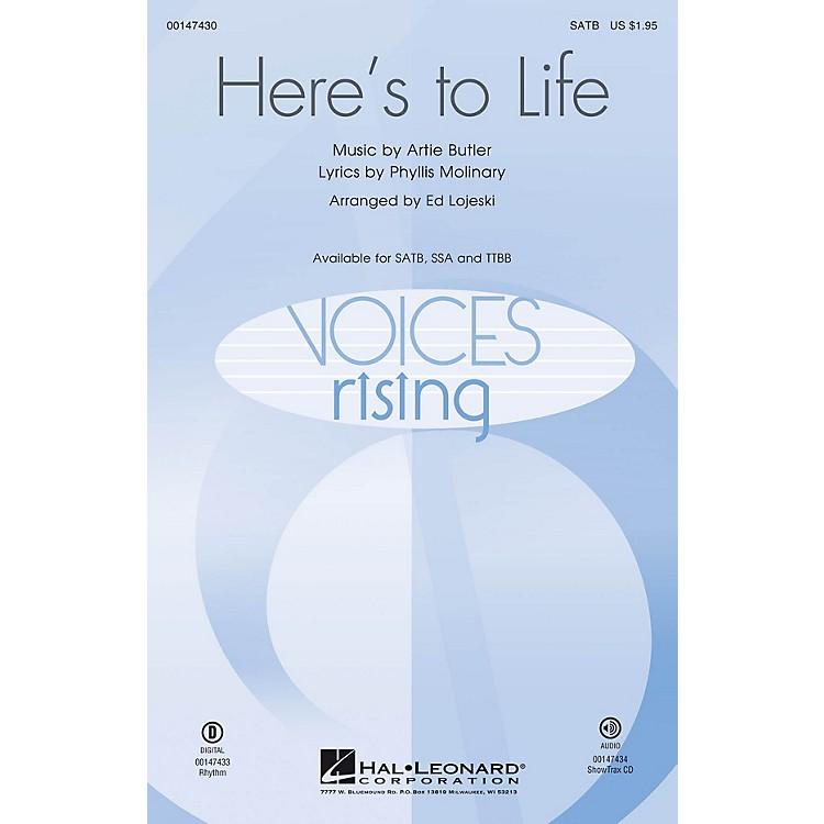 Hal LeonardHere's to Life SATB arranged by Ed Lojeski