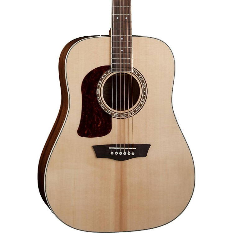 Washburn Heritage 10 Series HD10SLH Left-Handed Acoustic Guitar Natural