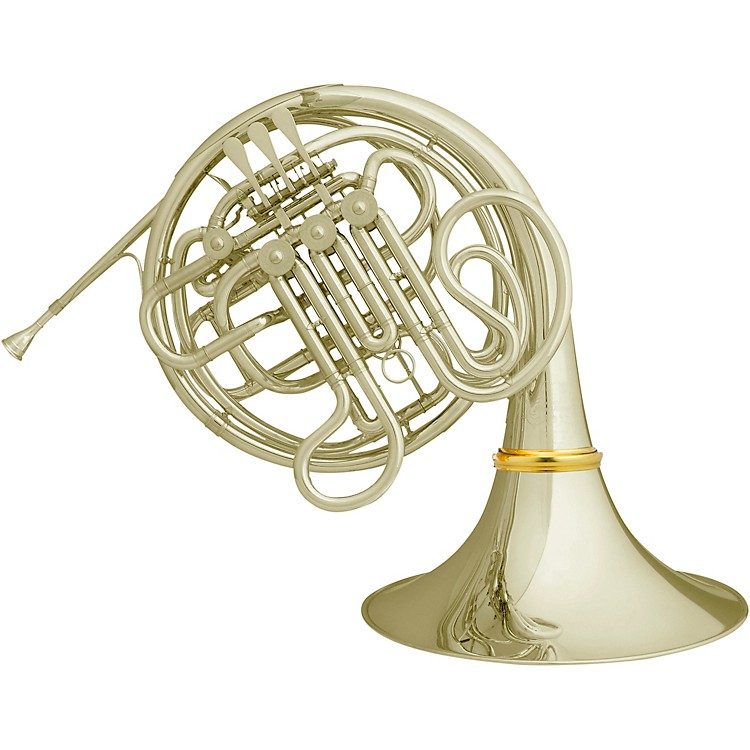 Hans Hoyer Heritage 6801 Bb/F Double French Horn Detachable Bell Nickel Silver Detachable Bell