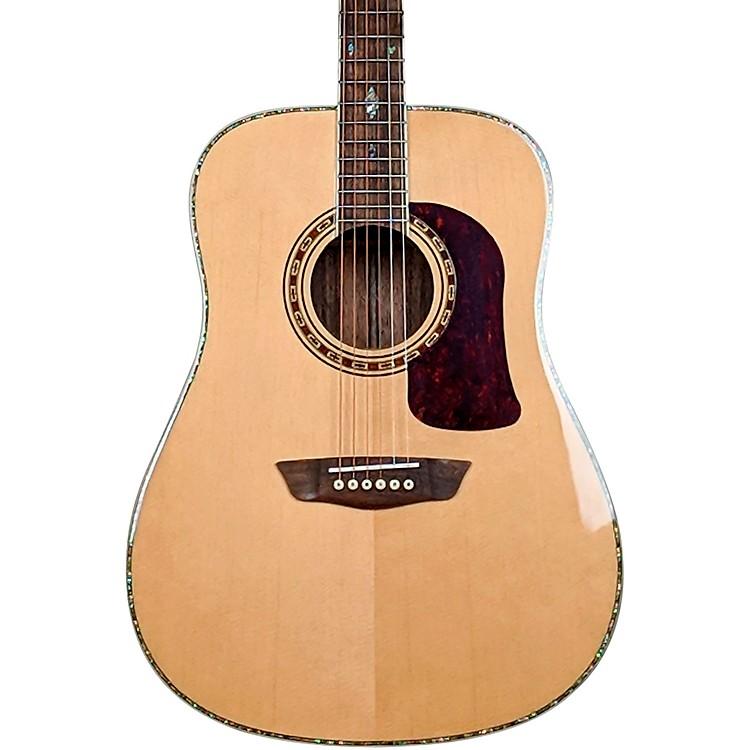 WashburnHeritage Elite HD80 Dreadnought Acoustic GuitarGloss Natural