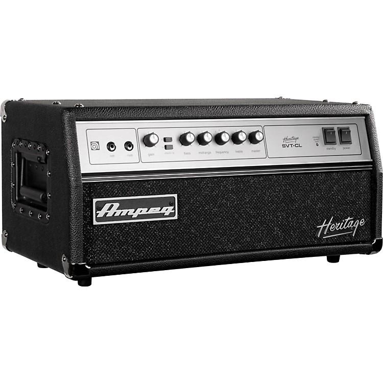 ampeg heritage series svt cl 2011 300w tube bass amp head music123. Black Bedroom Furniture Sets. Home Design Ideas