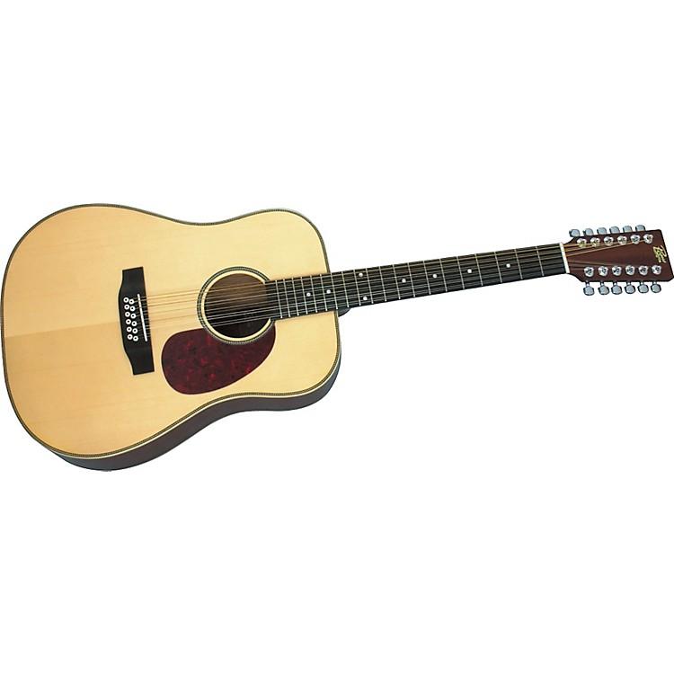RogueHerringbone 12-String Acoustic GuitarNatural