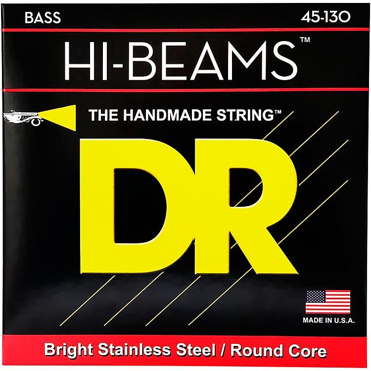 DR StringsHi Beams Medium 5-String Bass .130 Low B String