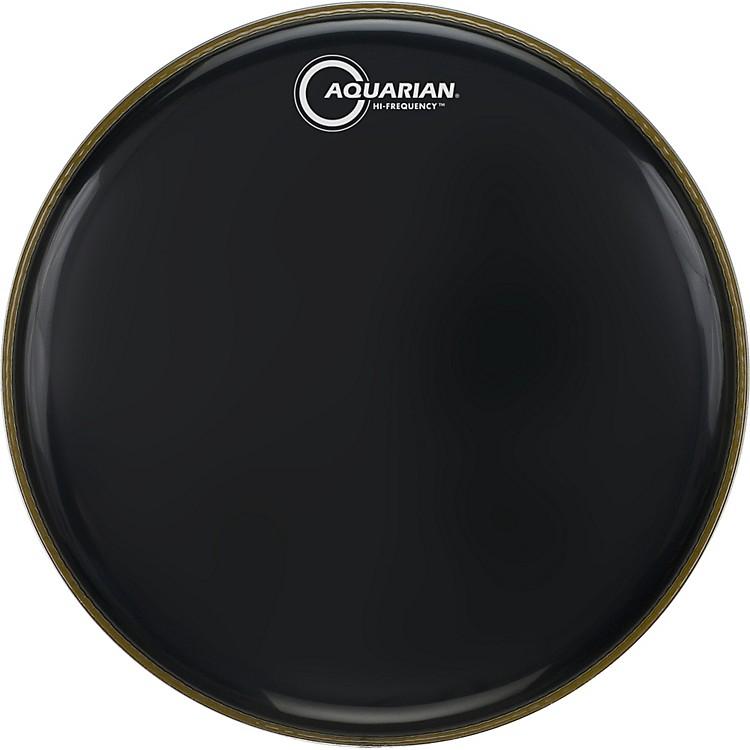 AquarianHi-Frequency Drumhead BlackBlack12 in.