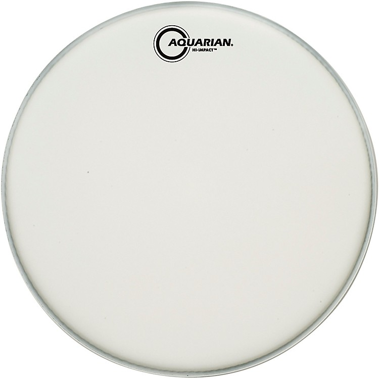 AquarianHi-Impact Snare White Snare Drum Head14 in.