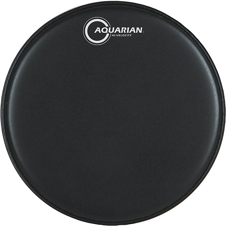 Aquarian Hi-Velocity Black Snare Head 13 in.