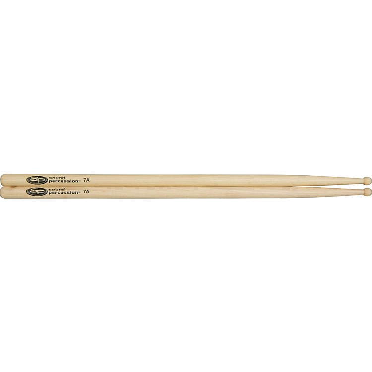 Sound Percussion Labs Hickory Drumsticks - Pair Wood 7A