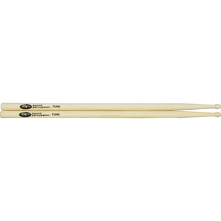 Sound Percussion Labs Hickory Drumsticks - Pair Wood Funk