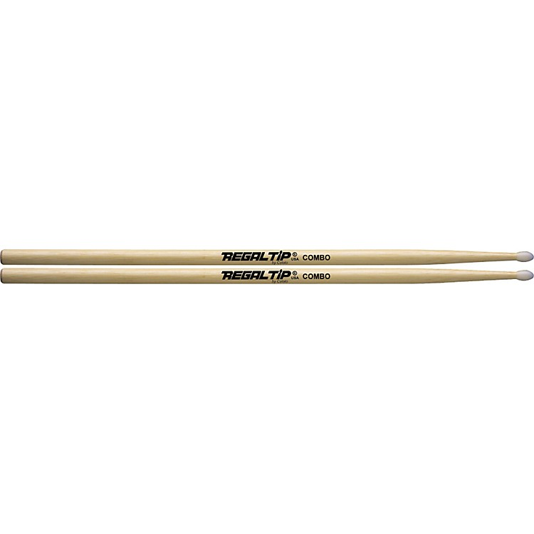 Regal Tip Hickory Drumsticks 3A Nylon
