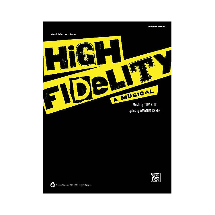 Alfred High Fidelity - A Musical (Vocal Selections) Vocal Selections Series Softcover