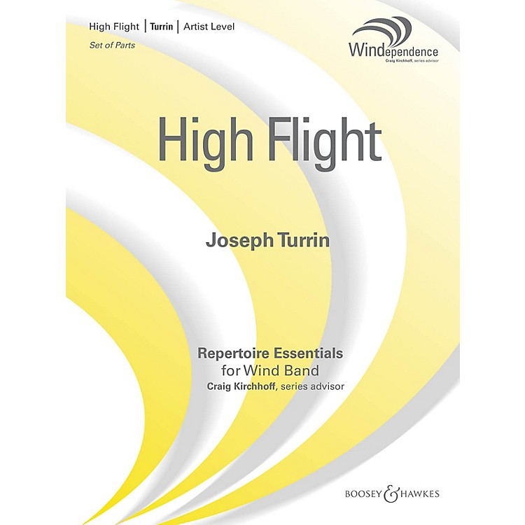 Boosey and HawkesHigh Flight (Score Only) Concert Band Composed by Joseph Turrin