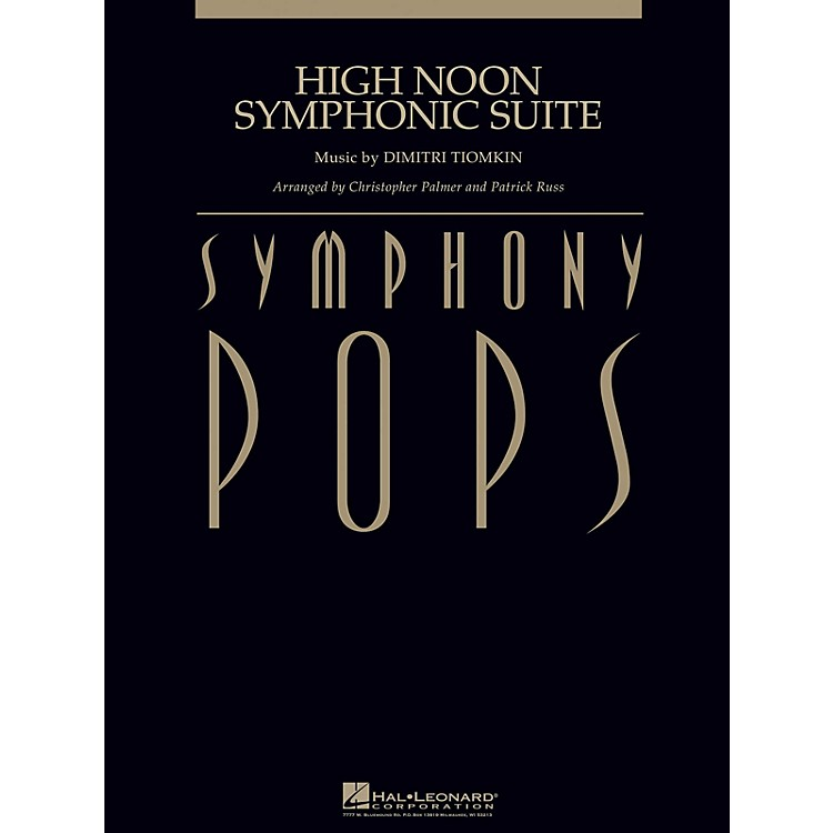 Hal LeonardHigh Noon Symphonic Suite (with Male Vocal (opt.) Score and Parts) Concert Band Arranged by Patrick Russ