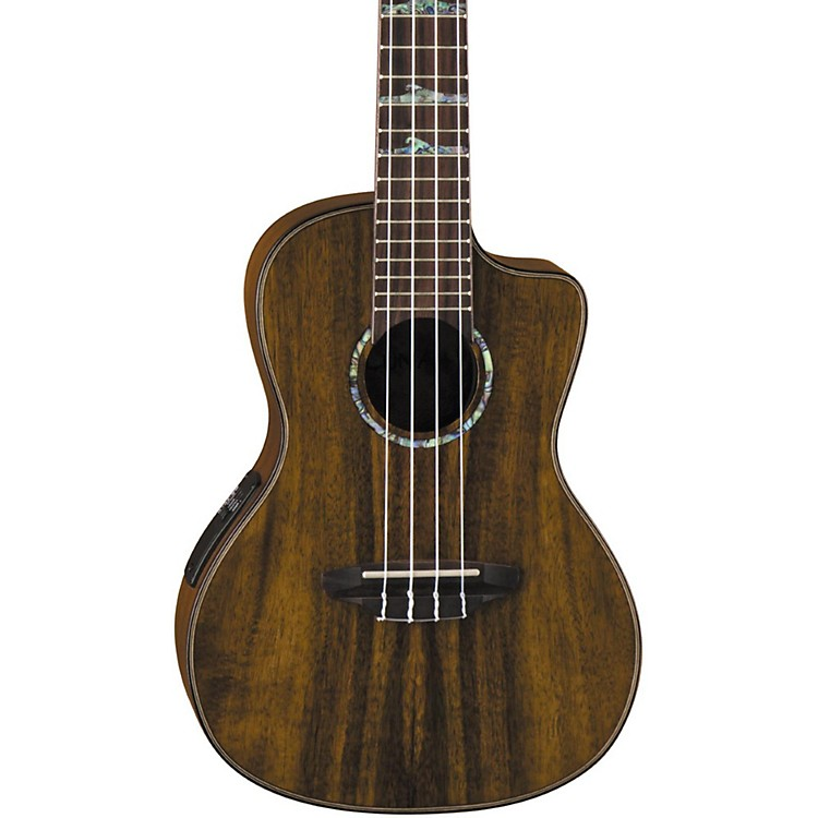 Luna Guitars High Tide Koa Concert Acoustic-Electric Ukulele Koa