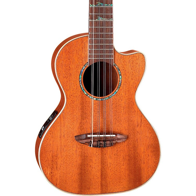 Luna Guitars High Tide Tenor Ukulele Mahogany