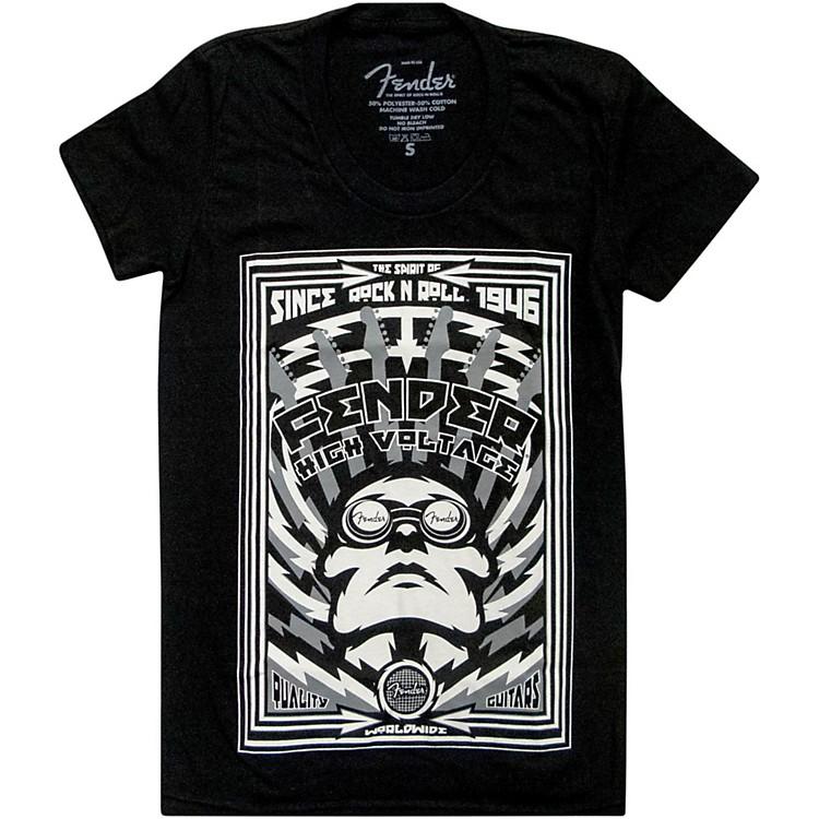 FenderHigh Voltage Ladies T-ShirtBlackExtra-Large