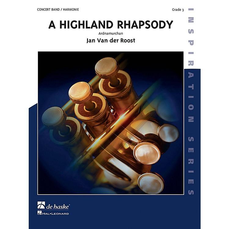 Hal LeonardHighland Rhapsody Score Only Concert Band