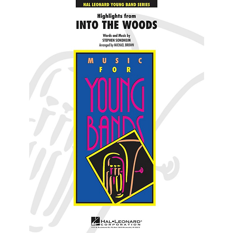 Hal LeonardHighlights from Into The Woods - Young Concert Band Series Level 3 arranged by Michael Brown