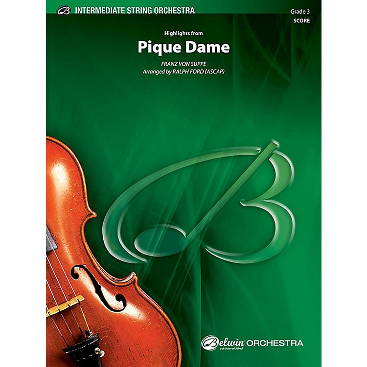 Alfred Highlights from Pique Dame String Orchestra Grade 3 Set