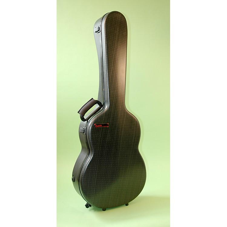 BamHightech Classical Guitar CaseBlack Lazure