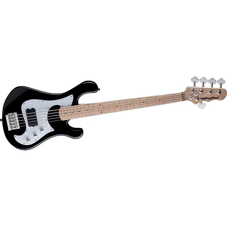 DeanHillsboro 5 5-String Active Electric Bass GuitarClassic Black