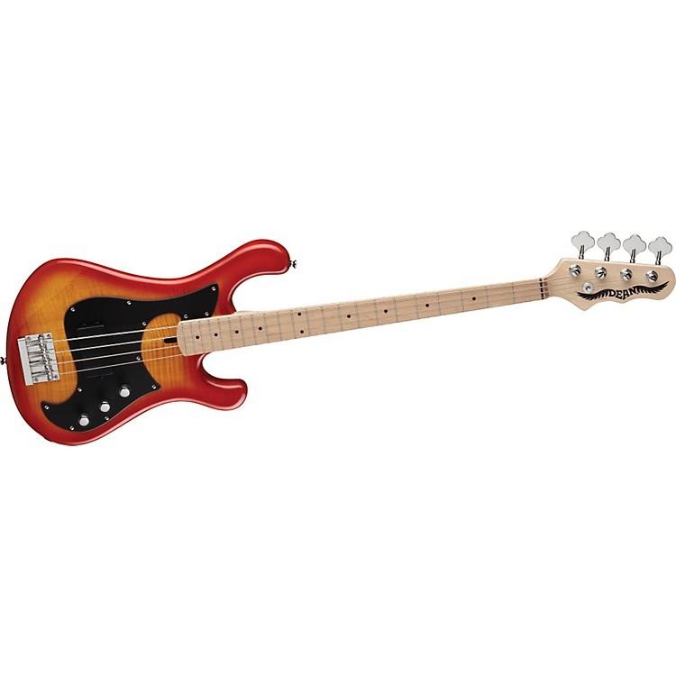 DeanHillsboro Single Active Electric Bass GuitarCherry Sunburst