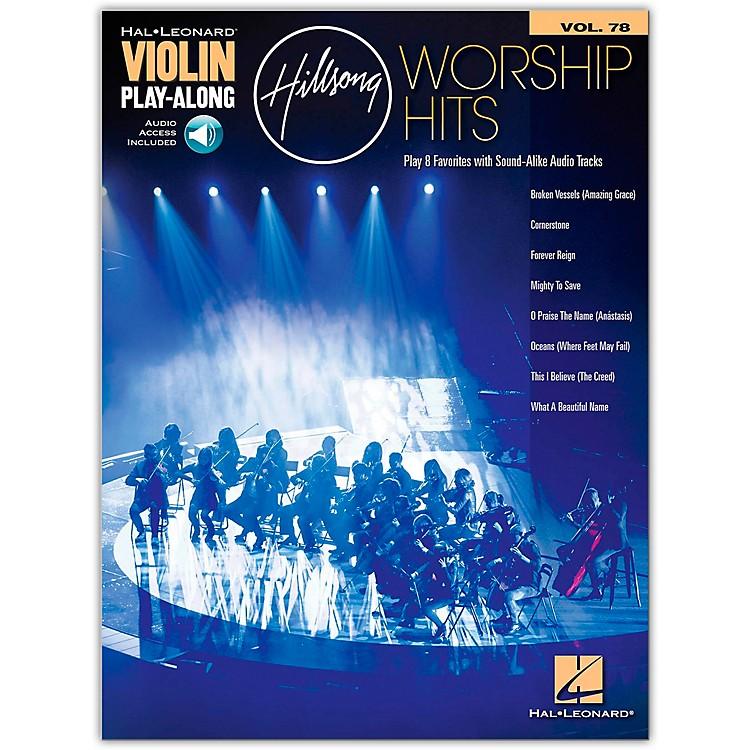 Hal LeonardHillsong Worship Hits Violin Play-Along Volume 78 Book/Audio Online