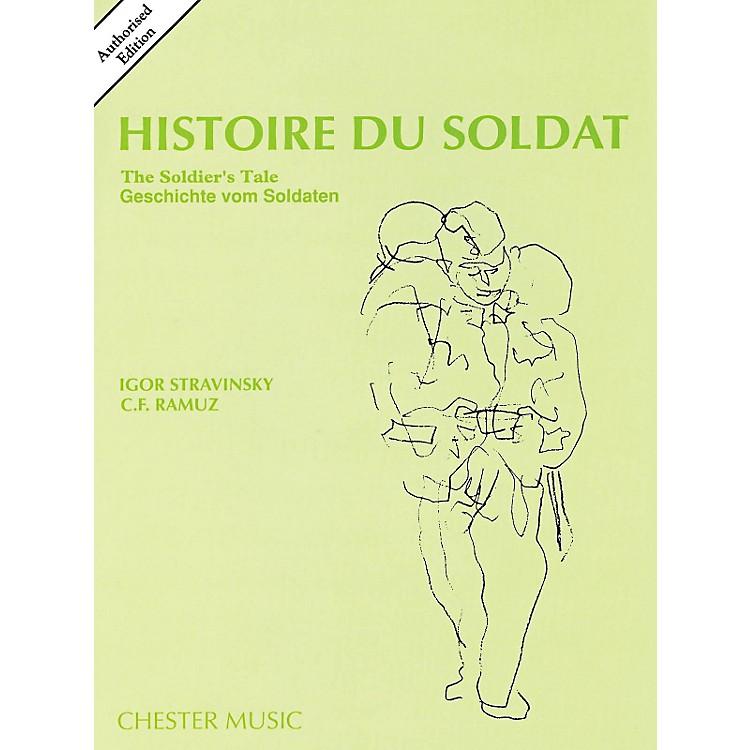 Music SalesHistoire Du Soldat (The Soldier's Tale) Stravinsky Authorized Edition Study Score