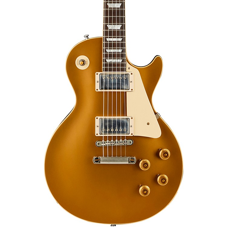 Gibson CustomHistoric '57 Les Paul Goldtop Darkback VOS 2018 Electric GuitarGold Top