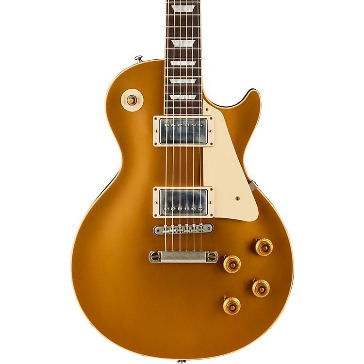 Gibson CustomHistoric '57 Les Paul Goldtop Darkback VOS Electric GuitarGold Top