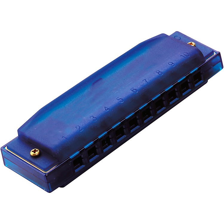 Hohner Hohner Kids Clearly Colorful Harmonica Blue