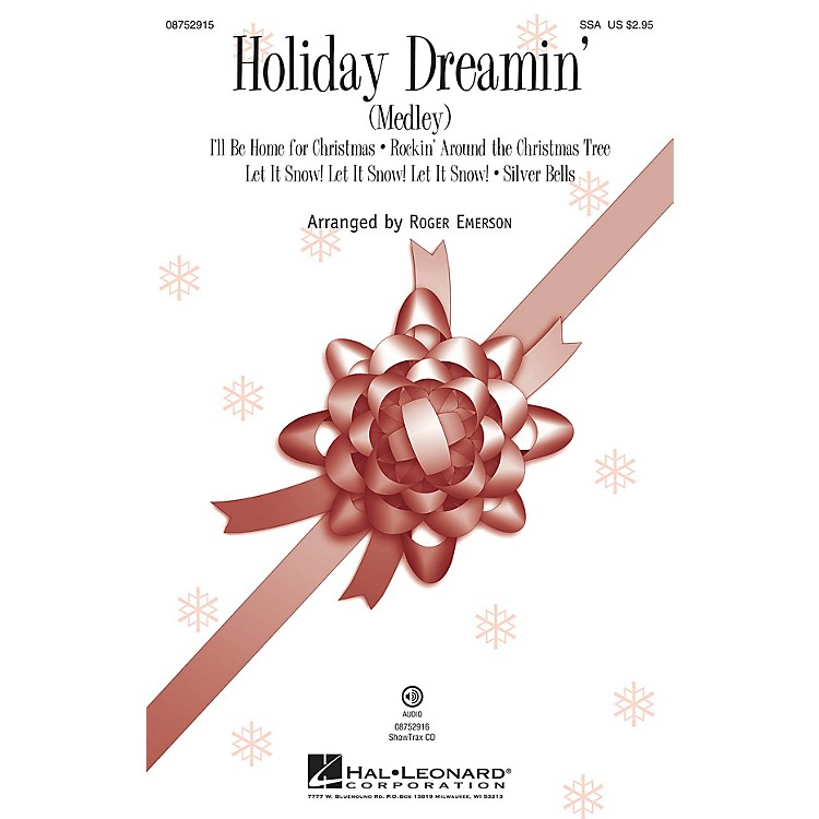Hal LeonardHoliday Dreamin' (Medley) ShowTrax CD Arranged by Roger Emerson