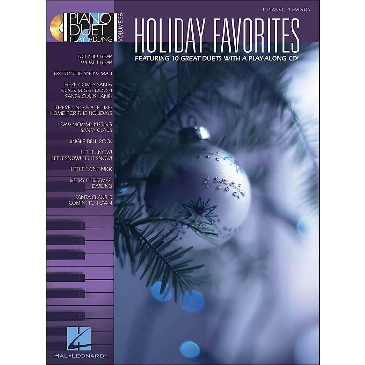 Hal LeonardHoliday Favorites - Piano Duet Play-Along Volume 36 (Book/CD)