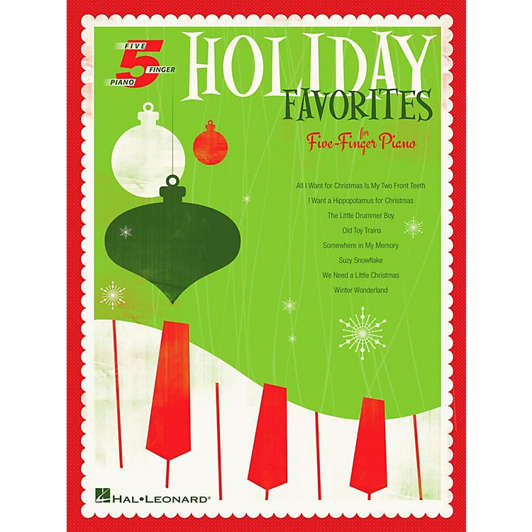 Hal Leonard Holiday Favorites For Five-Finger Piano