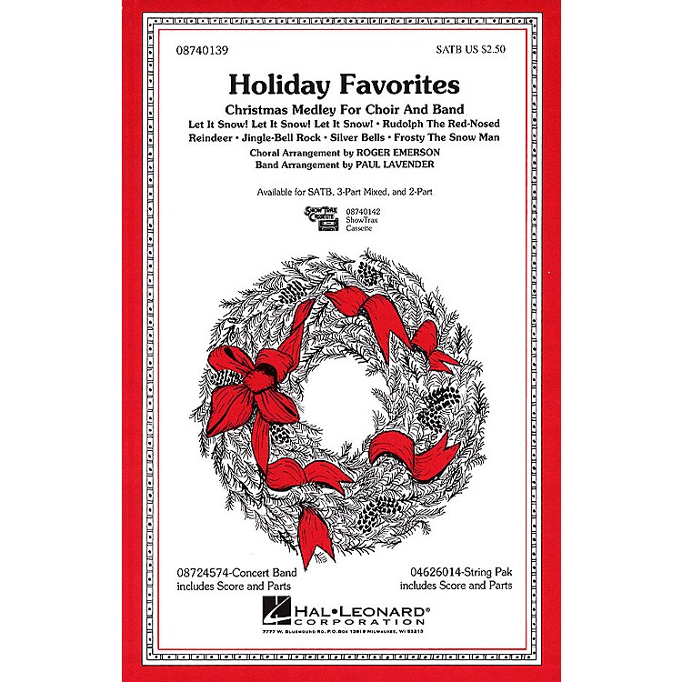 Hal LeonardHoliday Favorites (Medley) 2-Part Arranged by Roger Emerson