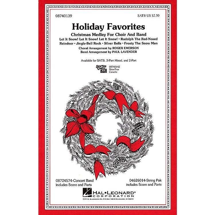 Hal LeonardHoliday Favorites (Medley) SATB arranged by Roger Emerson