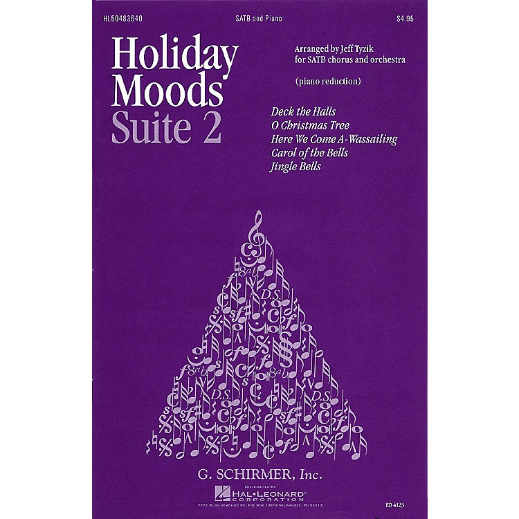 G. SchirmerHoliday Moods (SATB divisi) SATB Divisi composed by Various