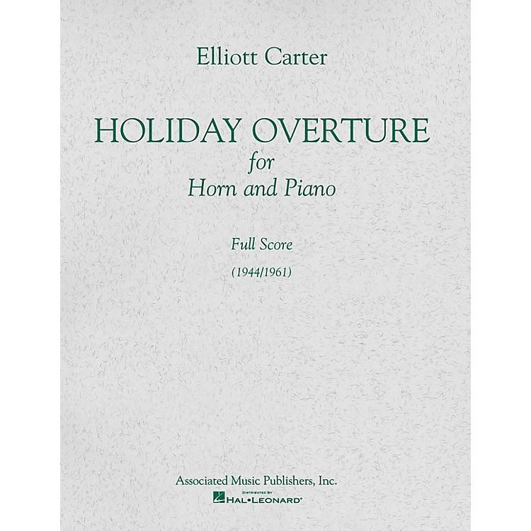 AssociatedHoliday Overture (1944/1961) (Full Score) Study Score Series Composed by Elliott Carter