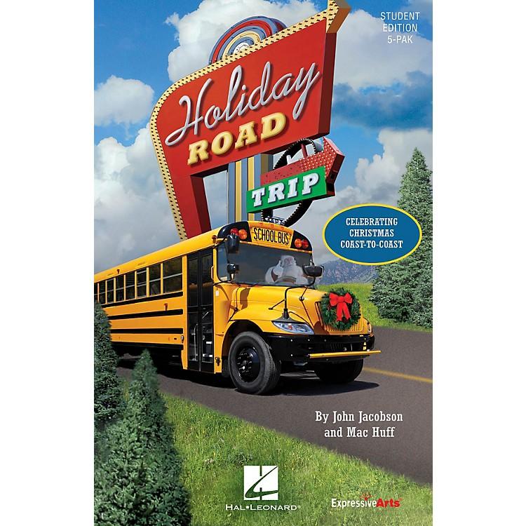 Hal LeonardHoliday Road Trip (Celebrating Christmas Coast-to-Coast) Singer 5 Pak Composed by John Jacobson
